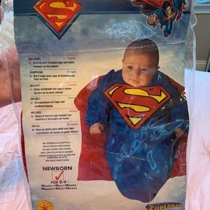 newborn superman costume